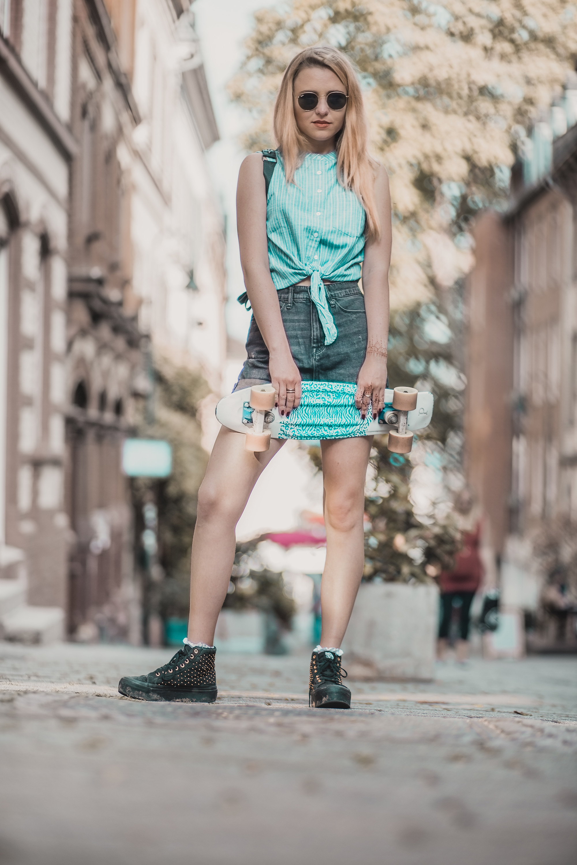 Skater Girl Mustang Jeans