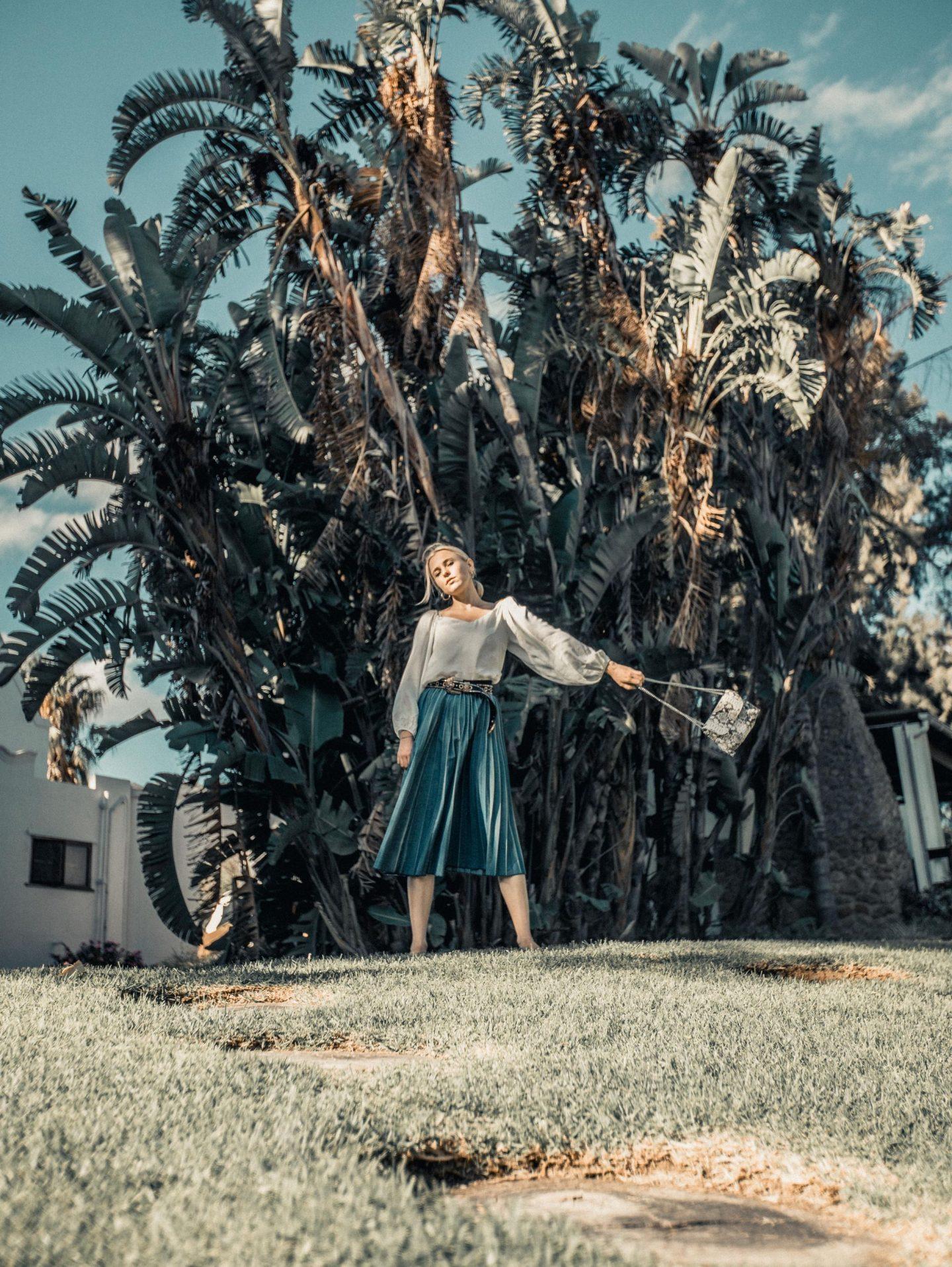 Frühling Sommer Kollektion 2019 Incognito Westerngürtel Jeansrock Nicola Marleen